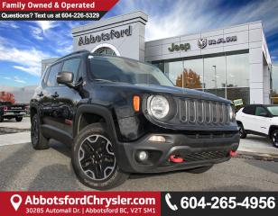 Used 2015 Jeep Renegade Trailhawk *ACCIDENT FREE* for sale in Abbotsford, BC