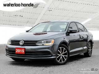 Used 2015 Volkswagen Jetta 1.8 TSI Comfortline Bluetooth, Back Up Camera, Heated Seats and more! for sale in Waterloo, ON