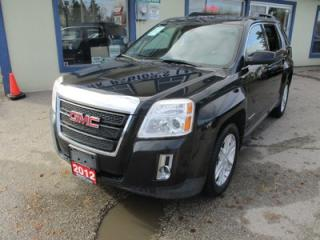 Used 2012 GMC Terrain LOADED SLT-1 MODEL 5 PASSENGER 3.0L - V6.. AWD.. LEATHER.. HEATED SEATS.. SUNROOF.. BACK-UP CAMERA.. PIONEER AUDIO.. for sale in Bradford, ON