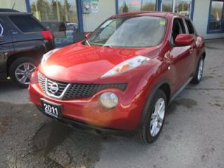 Used 2011 Nissan Juke FUEL EFFICIENT SV MODEL 5 PASSENGER 1.6L - DOHC.. ALL-WHEEL DRIVE.. KEYLESS ENTRY.. CD/AUX INPUT.. for sale in Bradford, ON
