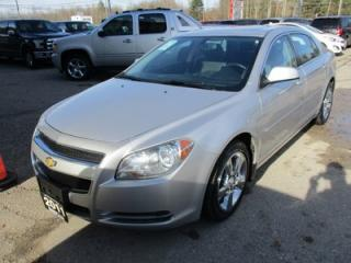 Used 2011 Chevrolet Malibu LOADED 2-LT MODEL 5 PASSENGER 2.4L - ECO-TEC.. LEATHER TRIM.. HEATED SEATS.. POWER SUNROOF.. CD/AUX INPUT.. for sale in Bradford, ON