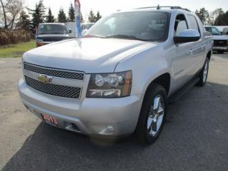 Used 2013 Chevrolet Avalanche LOADED 'BLACK-DIAMOND' EDITION 5 PASSENGER 5.3L - V8.. 4X4.. CREW.. SHORTY.. LEATHER.. HEATED/AC SEATS.. NAVIGATION.. SUNROOF.. DVD PLAYER.. for sale in Bradford, ON