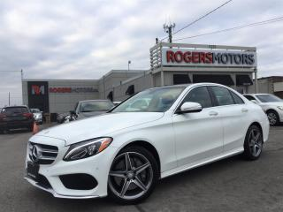 Used 2015 Mercedes-Benz C-Class C400 4MATIC - NAVI - LEATHER - PANORAMIC ROOF for sale in Oakville, ON