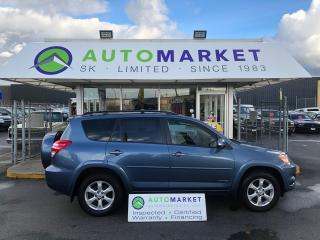 Used 2009 Toyota RAV4 Limited V6 4WD SUNROOF! LEATHER! FINANCE IT! for sale in Langley, BC
