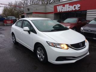 Used 2013 Honda Civic LX Sedan Automatic Heated Seats BlueTooth for sale in Ottawa, ON