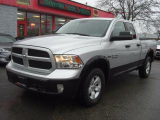 Used 2016 RAM 1500 Outdoorsman 4X4 Quad Cab for sale in London, ON