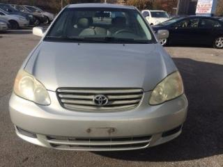 Used 2003 Toyota Corolla LE for sale in Scarborough, ON