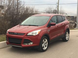 Used 2014 Ford Escape SE Ecoboost Back Up Cam *ACCIDENT FREE* for sale in Mississauga, ON