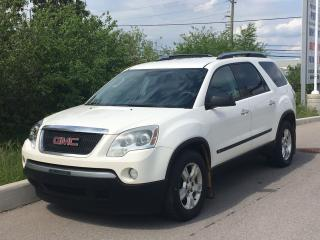 Used 2009 GMC Acadia SLE 7 Passenger **ACCIDENT FREE** for sale in Mississauga, ON