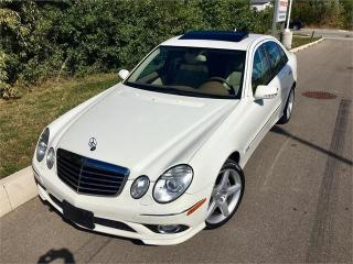 Used 2009 Mercedes-Benz E-Class 3.5L E350 4Matic AMG PKG *ACCIDENT FREE* for sale in Mississauga, ON