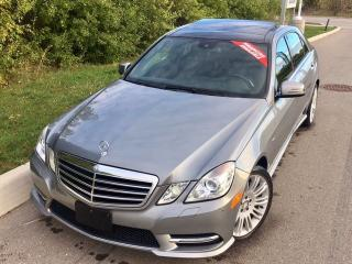 Used 2012 Mercedes-Benz E-Class E 350 4Matic NAVI/LANE ASSIST/BLIND SPOT/PANO ROOF for sale in Mississauga, ON