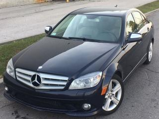 Used 2009 Mercedes-Benz C-Class C300 NAVI/Rear Sun Shade *ACCIDENT FREE* for sale in Mississauga, ON