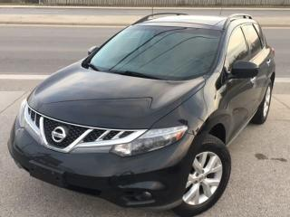 Used 2012 Nissan Murano SL LEATHER/SUNROOF/BACK UP CAM *ACCIDENT FREE for sale in Mississauga, ON