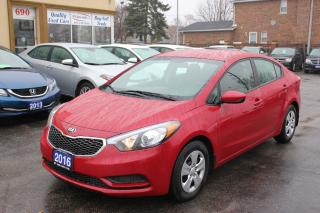 Used 2016 Kia Forte LX for sale in Brampton, ON