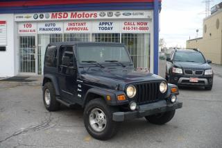 Used 2000 Jeep TJ Sport for sale in Etobicoke, ON