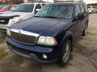 Used 2005 Lincoln Aviator for sale in Alliston, ON