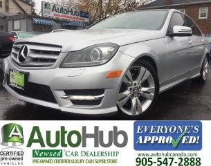 Used 2012 Mercedes-Benz C 300 NAV-PANORAMIC ROOF-4 MATIC-BACKUP CAMERA for sale in Hamilton, ON