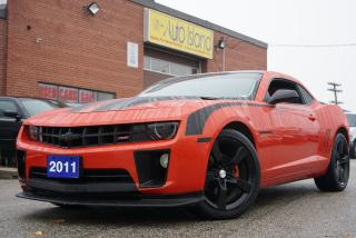 Used 2011 Chevrolet Camaro 2LT,BLUETOOTH,LEATHER,SUNROOF for sale in North York, ON