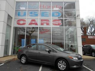 Used 2012 Honda Civic LX AUTOMATIC HEATED MIRRORS for sale in Halifax, NS
