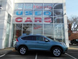 Used 2014 Honda CR-V EX-L HEATED LEATHER SEATS & MIRRORS for sale in Halifax, NS