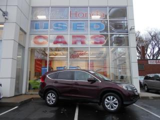 Used 2013 Honda CR-V EX-L HEATED LEATHER SEATS AND ALLOY WHEELS for sale in Halifax, NS