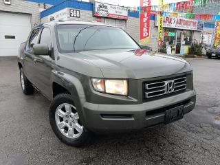 Used 2006 Honda Ridgeline EX-L  w/Sunroof_Leather_Accident Free for sale in Oakville, ON