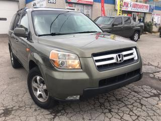 Used 2007 Honda Pilot EX-L 8 Passengers_Accident Free_Leather_Sunroof for sale in Oakville, ON