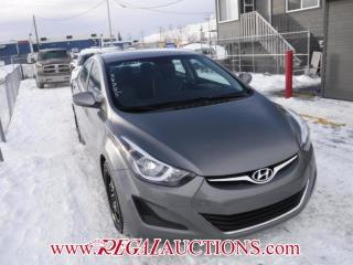 Used 2014 Hyundai ELANTRA  4D SEDAN AT for sale in Calgary, AB