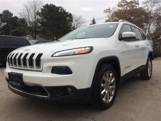 Used 2014 Jeep Cherokee Limited**NAV**HTD SEATS**BACK-UP CAM** for sale in Mississauga, ON