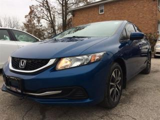 Used 2015 Honda Civic EX**LANEWATCH**BACK-UP CAM**BLUETOOTH** for sale in Mississauga, ON