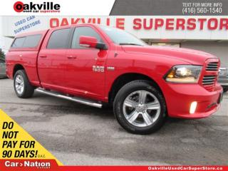 Used 2016 Dodge Ram 1500 Sport CREW CAB | LEATHER | B/U CAM | WHY BUY NEW | for sale in Oakville, ON