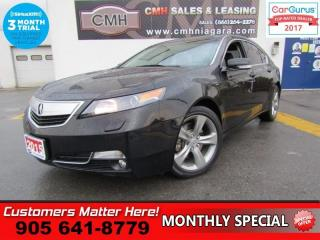 Used 2013 Acura TL Technology  AWD, TECH-PKG, NAV, CAM, ROOF, LEATHER for sale in St Catharines, ON