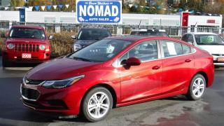 Used 2017 Chevrolet Cruze LT TURBO-HEATED SEATSREAR CAMERA for sale in Abbotsford, BC