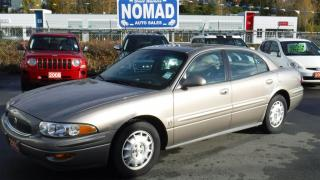 Used 2002 Buick LeSabre LIMITED with HEADS-UP DISPLAY for sale in Abbotsford, BC
