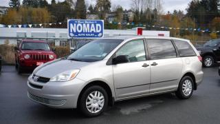 Used 2005 Toyota Sienna CE 8 PASSENGER for sale in Abbotsford, BC