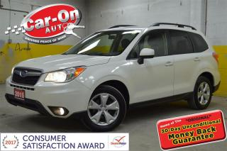 Used 2015 Subaru Forester 2.5i CONVENIENCE HTD SEATS REAR CAMERA for sale in Ottawa, ON