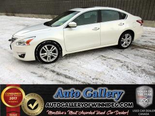 Used 2014 Nissan Altima 3.5 SL* Low Km for sale in Winnipeg, MB