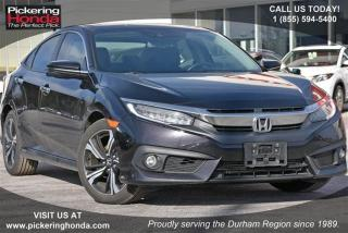 Used 2016 Honda Civic Sedan Touring CVT for sale in Pickering, ON