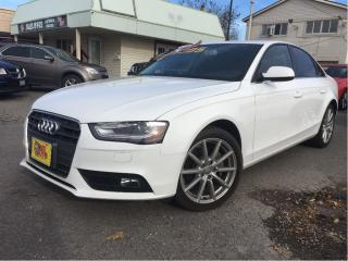 Used 2014 Audi A4 Progressiv AWD NAV LEATHER ROOF AUTO for sale in St Catharines, ON