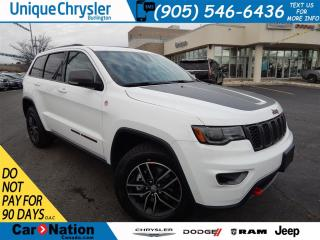 Used 2018 Jeep Grand Cherokee Trailhawk|RED TOW HOOKS|NAV|PANO ROOF|LEATHER!! for sale in Burlington, ON