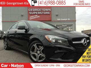 Used 2016 Mercedes-Benz CLA-Class C250 | 4MATIC | NAVIGATION | B/U CAMERA | SUNROOF for sale in Georgetown, ON