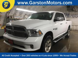 Used 2015 Dodge Ram 1500 LARAMIE*LIMITED*CREW CAB*4X4*HEMI*LONGHORN* GPS Navigation*8.4-inch touchscreen*Power Sunroof*Laramie Limited Leather Bucket Seats*ParkView rear back- for sale in Cambridge, ON