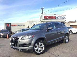 Used 2012 Audi Q7 TDI - 7 PASS - LEATHER - PANORAMIC ROOF for sale in Oakville, ON