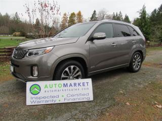 Used 2014 Kia Sorento SX, Navi, AWD, Loaded, Insp, Warranty for sale in Surrey, BC