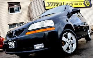 Used 2007 Pontiac Wave SE! Cruise+AuxIn+Sunroof! ONLY $78/bi-weekly! for sale in St Catharines, ON