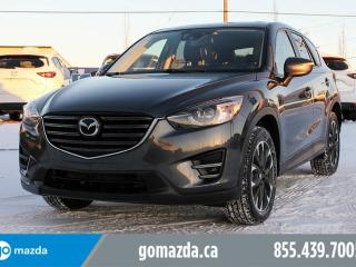 Used 2016 Mazda CX-5 GT TECH AWD LEATHER SUNROOF NAVIGATION BRAND NEW TIRES for sale in Edmonton, AB
