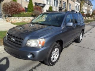 Used 2005 Toyota Highlander AWD, LOW KMS, CERTIFIED, NO ACCIDENTS for sale in Etobicoke, ON