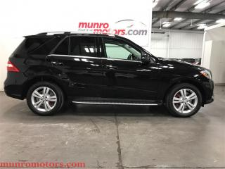 Used 2013 Mercedes-Benz ML-Class ML350 BlueTEC  ML 350 4MATIC Diesel Nav for sale in St George Brant, ON