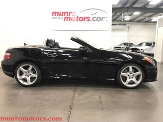 Used 2013 Mercedes-Benz SLK 350 AMG Sport Pkg Glass top Navigation for sale in St George Brant, ON