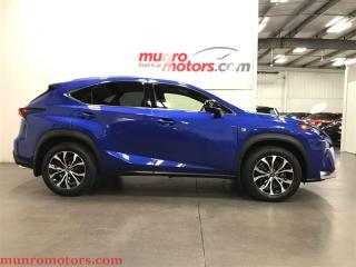Used 2015 Lexus NX 200t AWD F Sport Level 2 BLIS NAV Radar HUD Sunroof for sale in St George Brant, ON